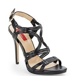 SFA Red - Sophisticated Black Adalin Sandal 10